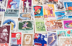 Sowjetischer Hintergrund Lizenzfreie Stockfotos