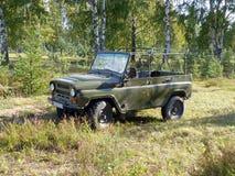 Sowjetischer Jeep Stockfotografie