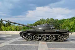 Sowjetischer Panzer T-62 Lizenzfreie Stockfotos