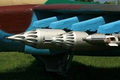 Sowjetischer Raketenwerfer Stockfotografie