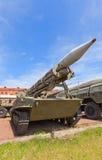 Sowjetischer Raketenwerfer 2P16 des Raketensystems 2K6 Luna Lizenzfreies Stockbild