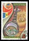 Sowjetischer rumänischer Raum-Flug Lizenzfreies Stockbild