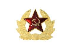 Sowjetisches Abzeichen stockfotografie