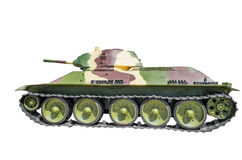 Sowjetisches Becken T-34-76 Lizenzfreies Stockbild