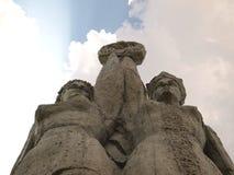 Sowjetisches Denkmal Stockfotos