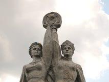 Sowjetisches Denkmal Lizenzfreie Stockbilder