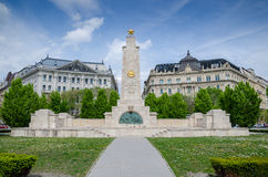 Sowjetisches Denkmal der roten Armee Lizenzfreies Stockbild