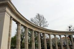 Sowjetisches Krieg-Denkmal in Wien Stockfoto