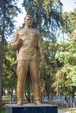 Sowjetisches Kriegdenkmal Stockfotos