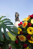 Sowjetisches Kriegs-Denkmal u. x28; Treptower Park& x29; in Berlin Lizenzfreie Stockfotos
