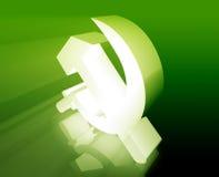 Sowjetisches Symbol vektor abbildung