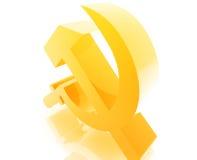 Sowjetisches UDSSR-Symbol lizenzfreie abbildung