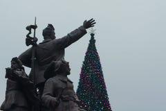 Sowjetisches Weihnachten Lizenzfreie Stockbilder