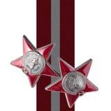Sowjetpreise - Bestellung des roten Sternes Lizenzfreies Stockbild