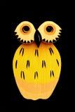 sowy kolor żółty Obrazy Royalty Free