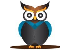 Sowy maskotka Zdjęcia Royalty Free