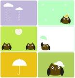 sowy pogoda Obrazy Stock