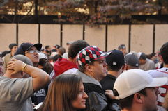 Sox Fans Royalty Free Stock Photography
