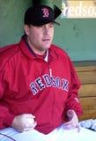 sox schilling boston краткий красный стоковое изображение