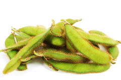 Soy. On a white background Royalty Free Stock Photos
