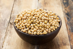Soy Beans In A Bowl Royalty Free Stock Image
