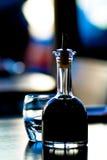Soy Bottle at Sushi Bar stock image
