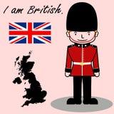 Soy británico fotos de archivo