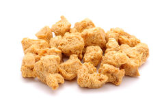 Soy cubes Stock Photo