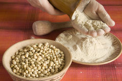 Soy Flour Stock Image