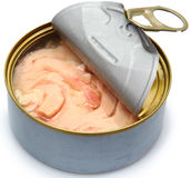 Soy Free Canned Albacore Tuna Royalty Free Stock Image