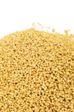 Soy lecithin granules Stock Photography