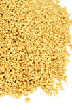 Soy lecithin granules Stock Images