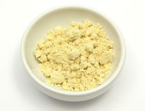 Soy meal Stock Photography