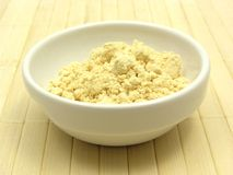 Soy meal Royalty Free Stock Image