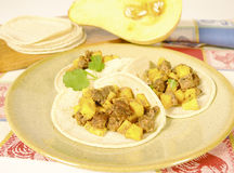 Soy meat dish Stock Photography