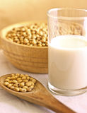 Soy milk Stock Photo