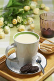 Soy milk Stock Photos