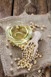 Soy Oil Royalty Free Stock Photo