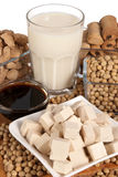 Soy products Stock Photos
