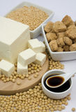 Soy products Royalty Free Stock Image