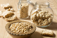 Soy products Royalty Free Stock Photo