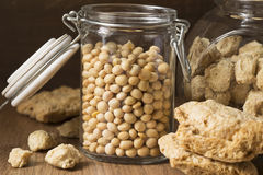 Soy products Royalty Free Stock Photos