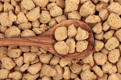 Soy Protein Chunks Stock Image