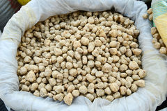 Soy protein chunks Stock Images
