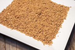 Soy protein granules Stock Photos
