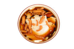 Soy Pudding stock photo