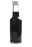Soy sauce in bottle Royalty Free Stock Photo