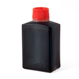 Soy sauce bottle Royalty Free Stock Image