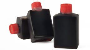 Soy sauce bottles Stock Image