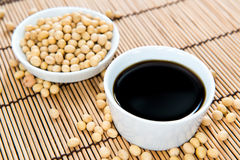 Soy Sauce (in a bowl) Royalty Free Stock Image